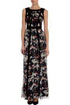 Karen Millen Maxi-jurk met vervaagde print