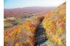 Big Walker Mountain in the fall