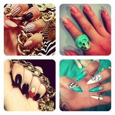 pointed nails | Pointed nails | My passion