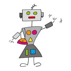 Robot girl by Cieleke, via Flickr