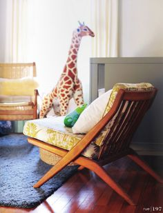 I love this Giraffe from Melissa and Doug.