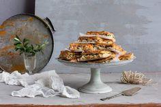 Lohilevypiirakka   K-Ruoka Camembert Cheese, Dairy, Cake, Pie Cake, Pie, Cakes, Cookie