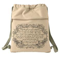 Pride and Prejudice by Jane Austen backpack