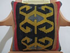 Hands on hips Design Pillow 16 x 16 Nomad by ZDkilimspillow