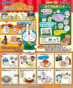 Re-ment Welcome To Doraemon Cafe
