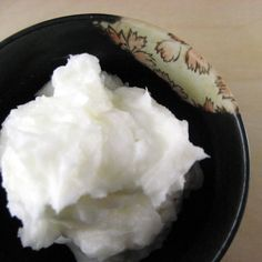 coconut oil lotion - great for very dry skin!
