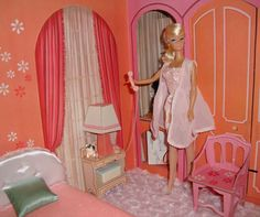 bedroom.  Barbie had a dream house and all little girls salivated over christmas morning when they ran to the tree and found that Santa had left them one. I wasn't so blessed.