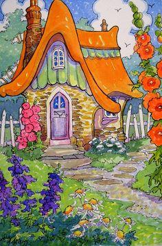 Somewhere it is Always Summer Storybook Cottage Series |