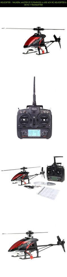 Helicopter - Walkera MASTER CP Flybarless 6-Axis 6CH RC Helicopter & DEVO 7 Transmitter #walkera #shopping #drone #fpv #technology #gadgets #camera #plans #parts #helicopter #products #cp #kit #tech #racing