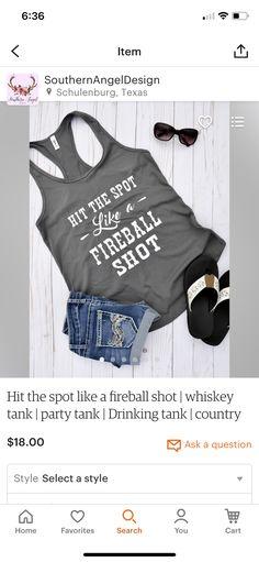 Luke Bryan Shirts, Fireball Shot, Crop Tops, Women, Style, Fashion, Swag, Moda, Fashion Styles