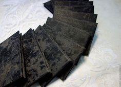 """Купить Сувенирный набор блокнотов """"Бархатная ночь"""" - бежевый, блокнот, блокнот для записей, офисный подарок"""