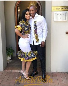 Matching Couples Outfits 2019 – Digital Living ✅ By Diyanu - African Plus Size Clothing at D'IYANU African Wedding Attire, African Attire For Men, African Print Fashion, African Wear, African Shirts, African Print Dresses, African Fashion Dresses, African Dress, Matching Couple Outfits