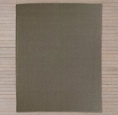 RH's Double Weave Outdoor Rug - Linen:Handwoven of durable polypropylene, our…