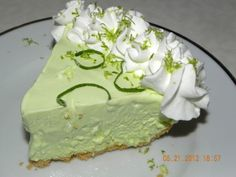 Frozen Key Lime Pie ----The best pie for Summer Eats!