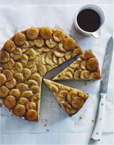 Banana Upside-Down Cake. Sunday Style, Aug-11-13