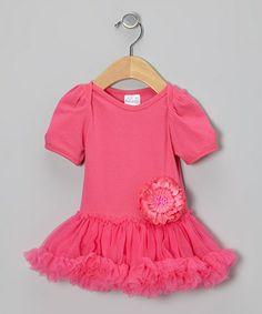 Look at this #zulilyfind! Hot Pink Skirted Bodysuit - Infant #zulilyfinds