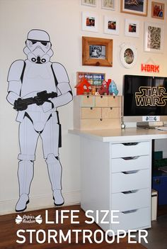 Life size stormtrooper printable