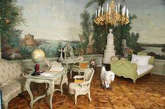 L'Appartamento di Gisella - http://www.schoenbrunn.at/it/informazioni-interessanti/castello-di-schoenbrunn/visita-del-castello/le-stanze-bergl.html