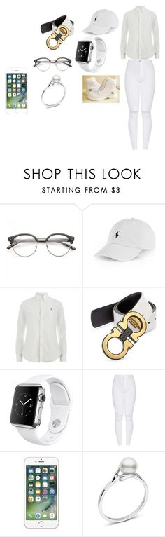 """Untitled #222"" by kodak0909 on Polyvore featuring Timberland, Polo Ralph Lauren, Salvatore Ferragamo and Apple"
