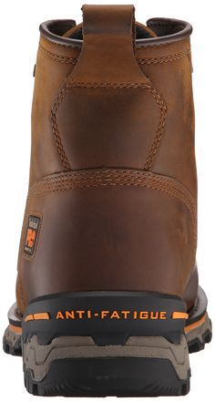 Timberland PRO Mens 6 Inch Boondock Comp Toe Waterproof Work Boot Brown Distressed Leather 8.5 W US >>> Details can be found by clicking on the image. (This is an affiliate link) #TimberlandWorkShoes