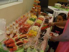barra de frutas!!! Delicioso!!!