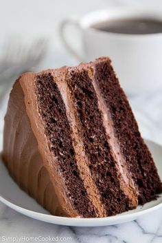 Make your New Year's gathering extra special with this scrumptious Nutella fudge cake. This cake is made with 3 fudgy layers of fine chocolate cake, and smothered between a rich butter cream and Nutella frosting. If you are a chocolate lover, this cake might just become your new favorite dessert. I hope all of you