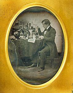 Portrait of John H. Old Photos, Vintage Photos, Adventures Of Sherlock Holmes, Daguerreotype, Female Fashion, Vintage Photography, Inventions, Clocks, Sweden
