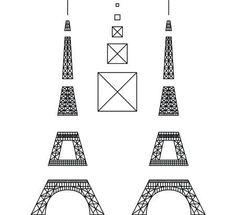 plantilla torre eiffel 3d - Buscar con Google