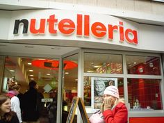 nutelleria {frankfurt, germany and bologna, italy}