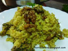 Arroz con pollo al Ras el Hanout Arroz Al Curry, Ras El Hanout, Fried Rice, Fries, Chicken, Ethnic Recipes, Food, Website, Youtube