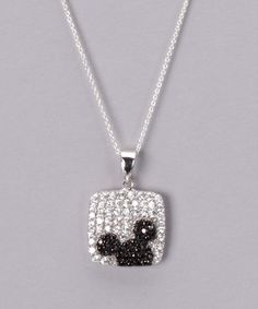 Take a look at this Sterling Silver Cubic Zirconia Mickey Pendant by Disney: Jewelry on #zulily today!