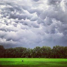 Clouds - Howard Heuston park Boulder