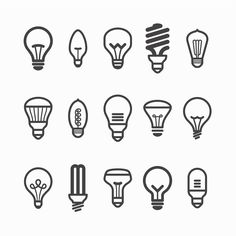 Learn how to save money with energy efficient lighting! logo Energy Efficient Lighting: What's The Deal With CFL and LED Light Bulbs Light Bulb Drawing, Light Bulb Art, Logos, Logo Branding, Electrician Logo, Icon Design, Logo Design, Flat Design, Led Logo