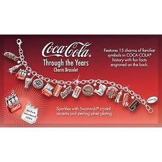 Coca Cola Charm Bracelet
