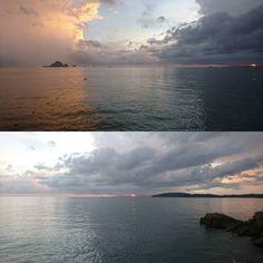 #aonang #Thailand #sunset #seascape #nofilter by ikarai_