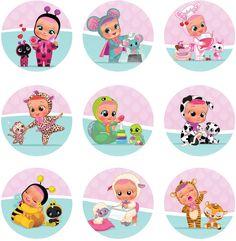 Cry Baby, 40th Birthday Cards, Baby Birthday Cakes, Girl Birthday, Moana Bebe, Baby Motiv, Baby Alive, Baby Party, Baby Cake Topper