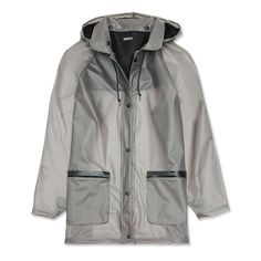 16 Chic Rainy Day Finds - DKNY PVC Coat from #InStyle