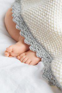 Babydecke selber stricken