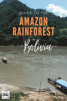 Awesome Guide to Visiting the Amazon Rainforest in Bolivia Magical Vacations Travel, Vacation Trips, Bolivia Travel, Solo Travel, Travel Tips, Amazon Rainforest, Explore Travel, South America Travel, Group Travel