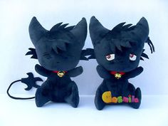 SERVAMP-Shirota-Mahiru-Kuro-Plush-Doll-Toy-Black-Cat-SleepyAsh-Kids-Gift-New
