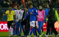 Neymar suspendido por 4 fechas