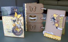A Pretty Paper and Chipboard Story...by Lou Collins