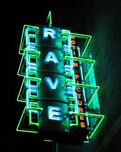 Rave Neon Sign | Flickr - Photo Sharing!