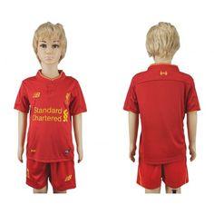 #Liverpool Trøje Børn 16-17 Hjemmebanesæt Kort ærmer.199,62KR.shirtshopservice@gmail.com
