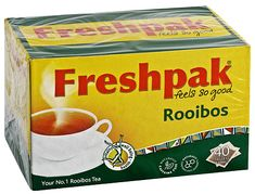 Looking for a nice, hot cuppa? Look no further than homegrown Freshpak Rooibos Tea. #picknpay #hertiageday #proudlysouthafrican