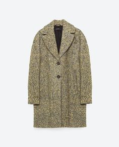 Image 8 of BOUCLÉ COAT from Zara