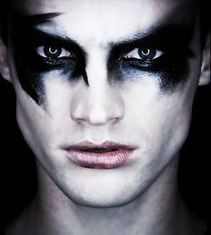how to do makeup for a dark angel boy - Google Search More