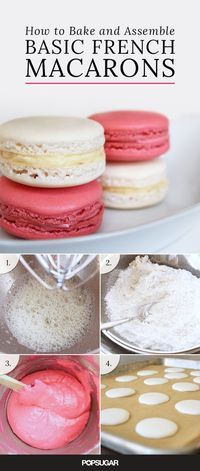 These charming little cookies have become a total dessert craze thanks to our French friends across the pond. Macarons are a sugary and delicious treat perfect for tea parties, bridal showers, and basically any festive occasion you can think of. Don't be intimidated by their seemingly difficult recipe requirements, because our guide to baking and assembling the basic French macaron is fool proof!
