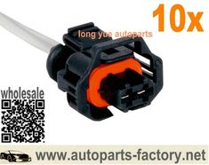 """long yue Connector Pigtail Fits Engine Crankshaft/Engine Crankshaft Position Sensor/Engine Oil Pressure Switch 6"""""""