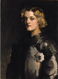 Portrait of Pauline Chase as Joan of Arc  Sir John Lavery, R.A.